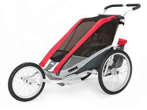 Thule_Chariot_Cougar1_Red_Jogging 10100533_0