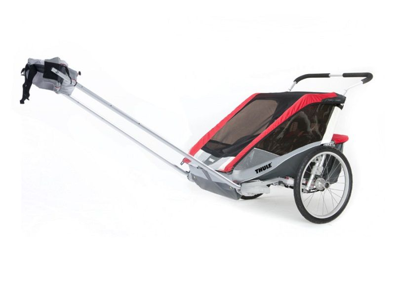 thule_chariot_cougar2_red_hike