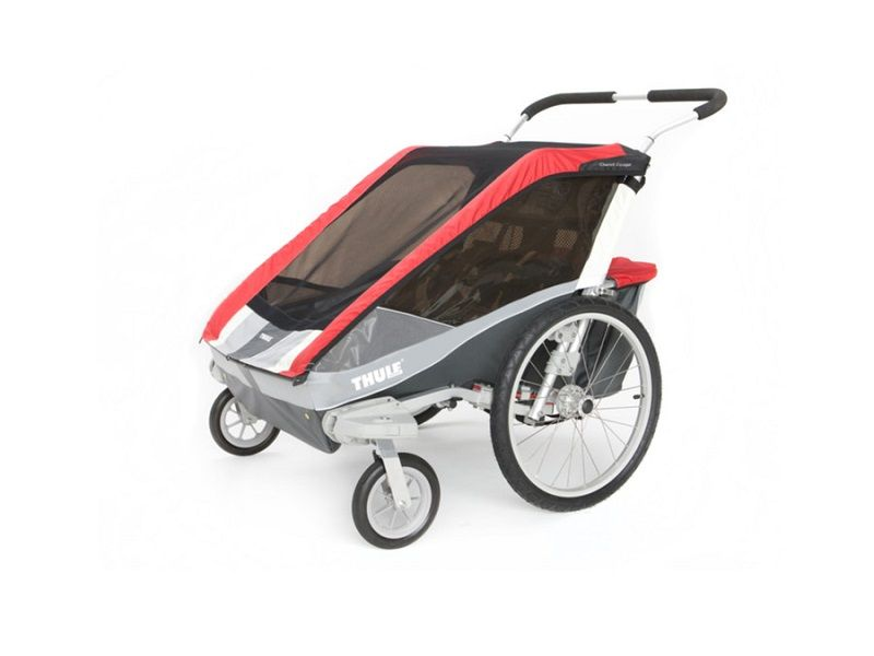 thule_chariot_cougar2_red_stroll